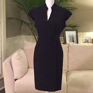 Beautiful Black Wrap Dress